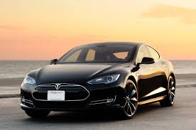 electric cars tesla tesla model s electric car black galleryautomo