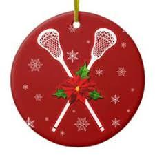 cts lacrosse player figure ornament stuff