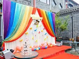 2016 sale silk cloth baby shower decor birthday