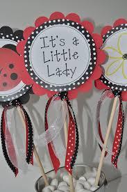 ladybug baby shower favors 24 party favor stickers ladybug baby shower or birthday party