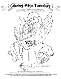 dulemba coloring tuesday story fairies