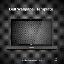 wallpaper template dell wallpaper template by autormali on deviantart