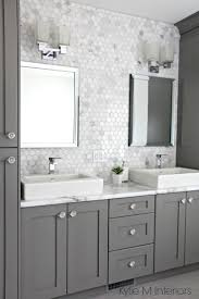Black And White Bathroom Decor Ideas Best 25 Gray And White Bathroom Ideas On Pinterest Gray And