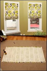 how to make inexpensive no sew roman shades http craft