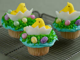 Easter Decorations And Recipes by Cute Easter Cupcakes Food Network