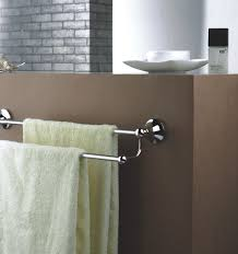 Bathroom Towel Bars In Another Useful Usage The New Way Home Decor - Towels bars for bathroom