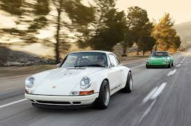 white porsche 911 singer 911 in white photo gallery autoblog