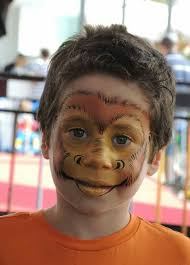 best 25 monkey face paint ideas on pinterest monkey makeup