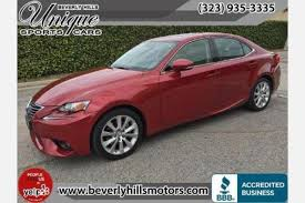 2014 lexus is 250 for sale used lexus is 250 for sale in los angeles ca edmunds