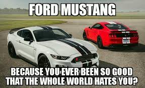 Ford Mustang Memes - just another mustang meme