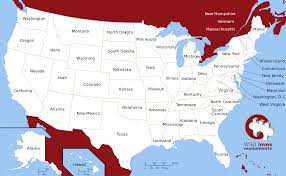 usa map just states usa map images maps of the united states within with and us
