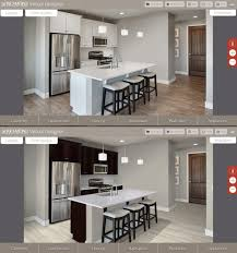 online kitchen design planner kitchen arizona home builder launches virtual kitchen design