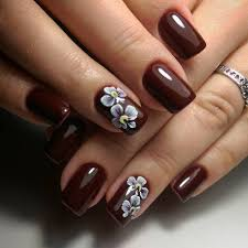 brown and gold nail artandnailsart super sensational summer nail