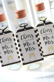 wine bottle favors mini wine bottle favor tags bridal shower mini chagne