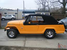 jeep wrangler commando custom jeepster commando convertible