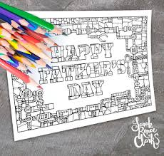 father u0027s day gift pack sarah renae clark coloring book artist
