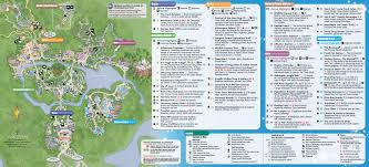 Map Of Wet N Wild Orlando by May 2015 Walt Disney World Resort Park Maps Photo 10 Of 14