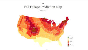 Foliage Map Best Fall Color Near Knoxville