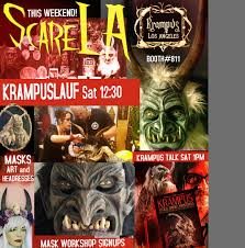 krampus los angeles the european christmas devil runs amok on la