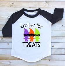 trollin u0027 for treats troll halloween shirt funny