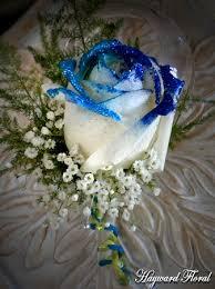 royal blue boutonniere 033 boutonniere