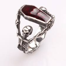 coffin ring 2017 new fashion the vire diaries coffin ring for party wedding