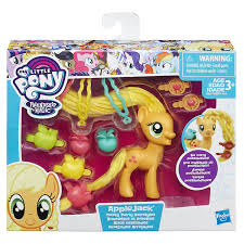applejack hairstyles amazon com my little pony twisty twirly hairstyles applejack toys