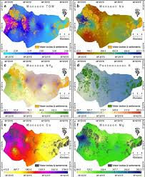 Calcutta India Map by Assessment Of The Spatio Temporal Distribution Of Soil Properties