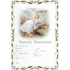 baptism certificate baptism certificate with envelopes baptism