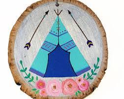 tribal ornament etsy