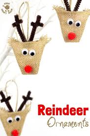 Homemade Christmas Reindeer Decorations by Christmas Reindeer Decoration Ween Billybullock Us