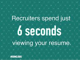 Resume 6 Seconds Resumes 7 Ways To Find A Job In Social Media From 2016 Sxsw