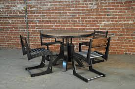 Industrial Style Dining Room Tables by 12 U2032 Vintage Industrial Steel Dining Table U2013 Vintage Industrial