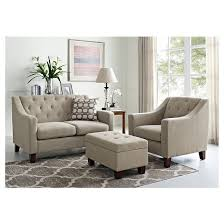Small Storage Ottoman Felton Tufted Small Storage Ottoman Taupe Threshold Target