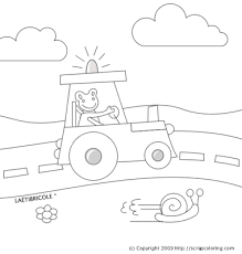vehicles coloring