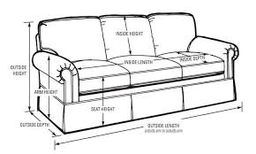 average height of couch seat average sofa seat height digitalstudiosweb com