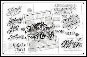 tattoo lettering books letters to live by vol 1 bicknee tattoo