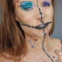 Halloween Voodoo Doll Costume Halloween Voodoo Doll Makeup Ideas Bootsforcheaper