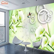 online buy wholesale nature wall murals from china nature wall shinehome custom photo wallpapers floral flower nature 3d wall murals rolls paper home decorative decor