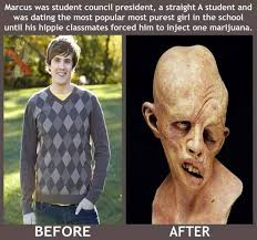 Injecting Marijuanas Meme - devastating effects of injecting marijuanas