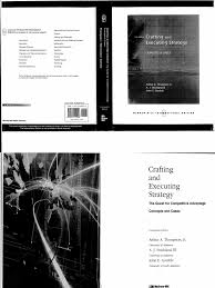 thomson arthur crafting and executing strategy concepts and cases