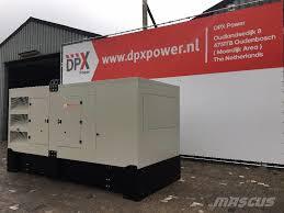 used volvo tad1345ge 495 kva dpx 17709 diesel generators year