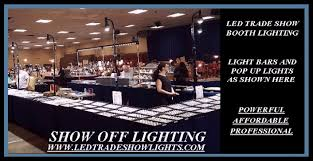 art show display lighting led light strips for jewelry display case craft shows art shows