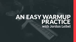 an easy warmup practice piano lessons pianote with loop