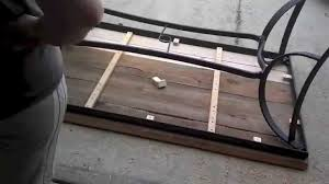 patio table top replacement idea rebuilt a busted patio table top youtube with the most elegant patio