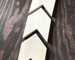 wood chevron etsy