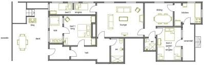 big beach house floor plans house plans