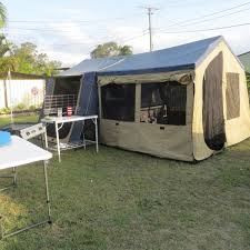 Oztrail Awning Review 2012 Oztrail Marlin Camper Trailer Crestmead