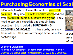 Ikea Buy Or Sell A Economies Of Scale Ikea By Morrisdm1 Teaching Resources Tes