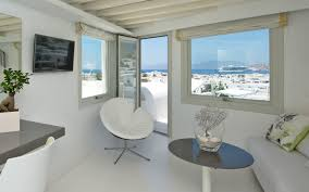 executive suite sea view semeli best hotel mykonos